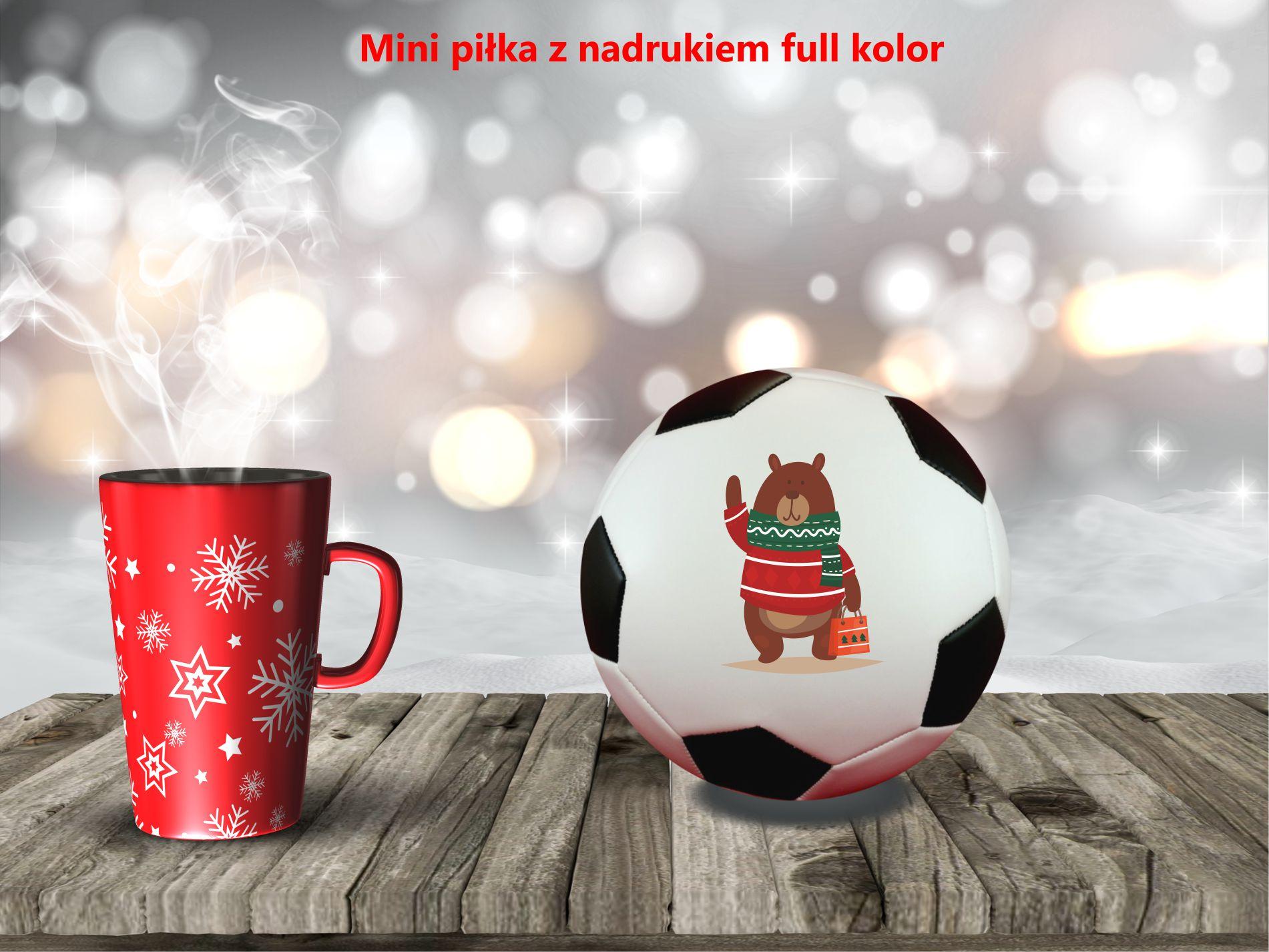 Mini piłki upominkowe, sportowy gadżet , firmowy prezent na święta