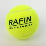 Piłka tenisowa z nadrukiem 01