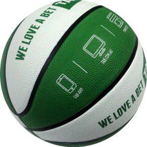 Piłka koszowa z nadrukiem, logo na piłce koszowej, produkcja piłek do kosza, koszykówka, sportowe piłki z logiem, nadruki na piłkach sportowych