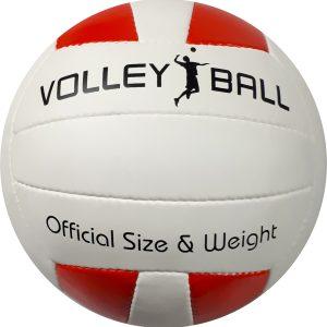 Czerwono biała piłka, piłki iatkowe z nadrukiem, zrobimy Twoja piłkę własna piłka z logiem, piłki reklamowe, sportowe piłki z własnym nadrukiem, piłka siatkowa we własnych kolorach
